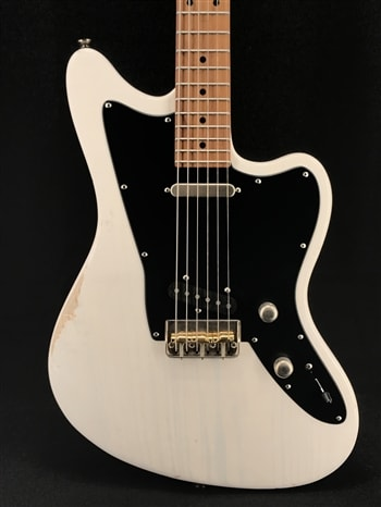 Tom Anderson Raven Classic in Distressed Translucent White