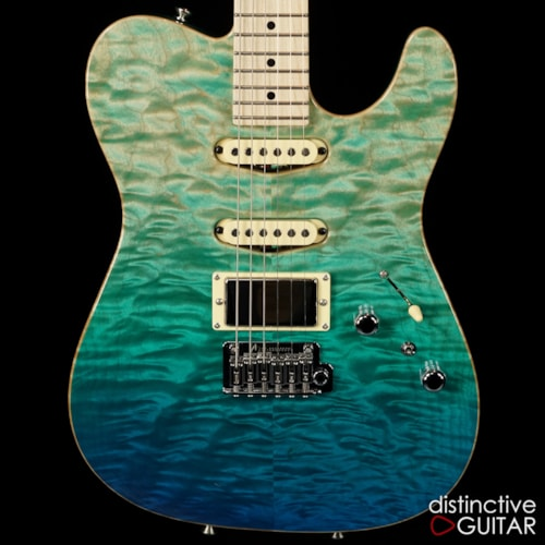 Tom Anderson Top T Bora Blue Surf Quilt