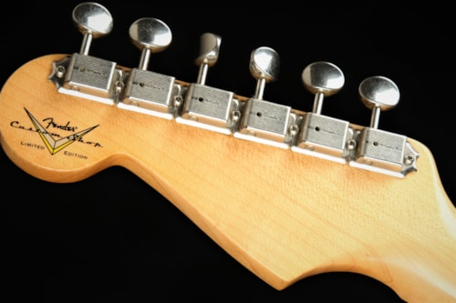 2019 Fender Custom Shop Limited '55 Dual-Mag Stratocaster Closet Classic - Candy (1955 reissue)