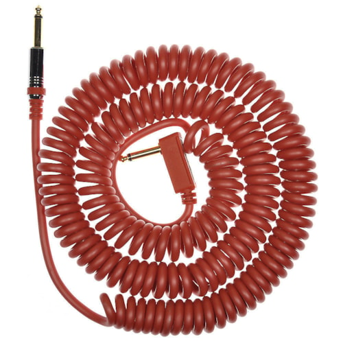 Vox Premium Vintage Coiled Guitar Cable 9m - Red