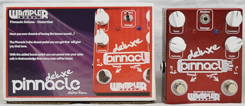 Wampler Pinnacle Deluxe V1 Distortion Red & White