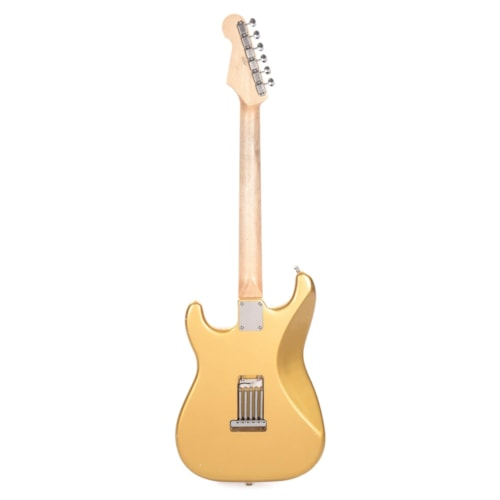 Waterslide S-Style Coodercaster Aged Aztec Gold w/Mojo Lap Steel & Gold Foil