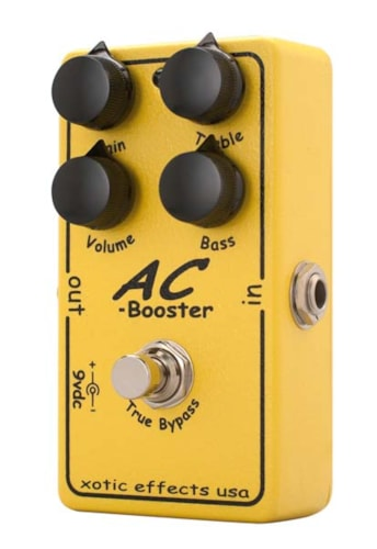 Xotic Effects AC Booster Yellow, Brand New, $168.00