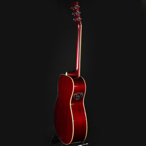 Yamaha FS-TA Concert TransAcoustic Acoustic-Electric Ruby Red (IQY190318)