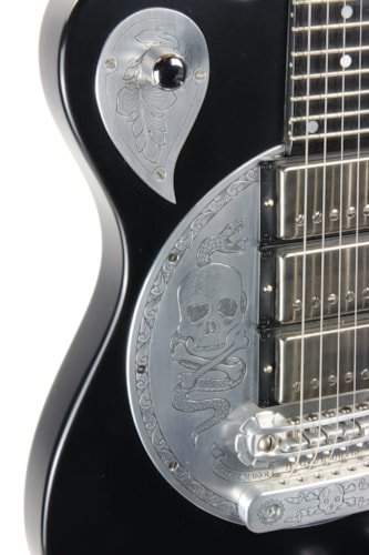 Zemaitis Custom Shop Tony's Collection S24DT Disk Front DF501 Skulls and Snakes - Danny Obrien