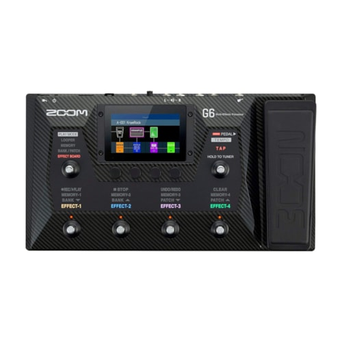 Zoom G6 Multi-Effects Processor with Expression Pedal