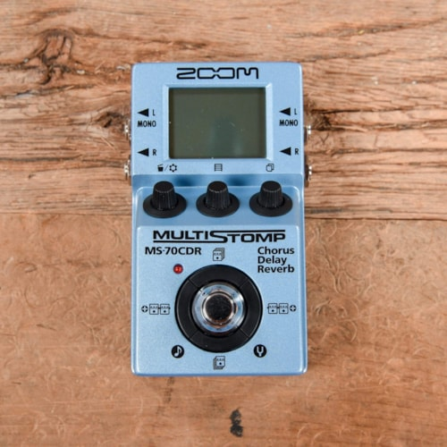 Zoom MS-70CDR Multistomp Effect Pedal w/Chorus, Delay & Reverb