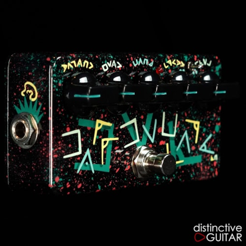 Zvex Fat Fuzz Factory NAMM Showpiece Custom Hand Painted N194