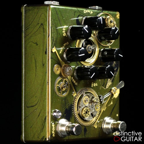 Zvex Fuzz Factory 7 Limited Edition Custom Painted Steampunk, Brand New, $599.00