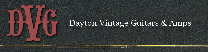 Dayton Vintage Guitars And Amps