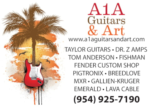 Jeffrey D's A1A Guitars & Art